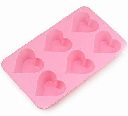 6 Heart Mold