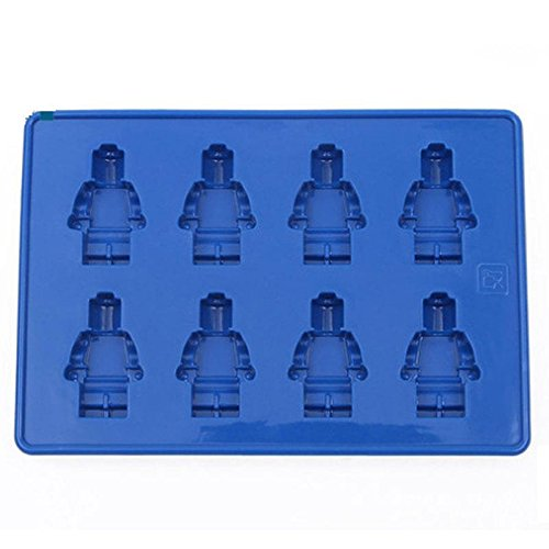 Mini Lego Figurine Ice Tray