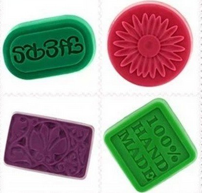 Allforhome Mold 4PCS Square 100% handmade Oval Round Rectangle Soft Silicone Chocolate Cake Baking Molds Handmade Soap DIY Moulds Molds Reviews