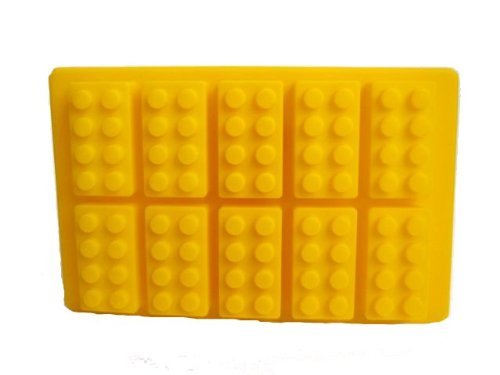 Building Brick Shaped Ice Cube Tray