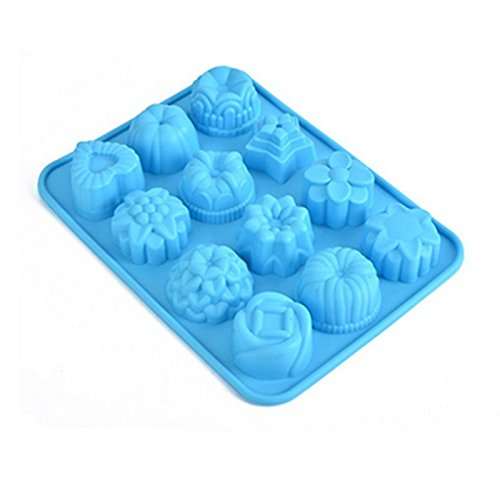 BreaDeep 12 Flowers Cake / Bread Mold