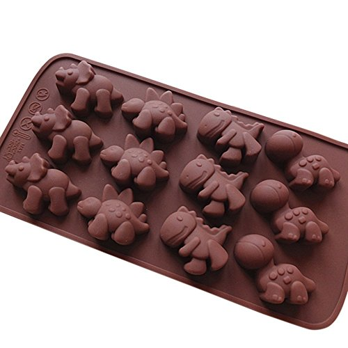 Mini Dinosaur Ludan Mold (Produces 12)