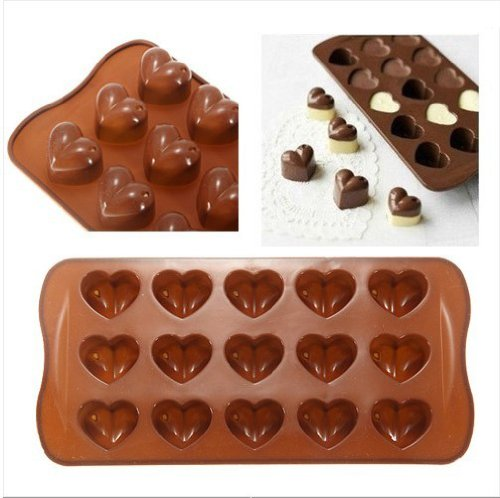 Heart Shaped Silicone Chocolate Mold