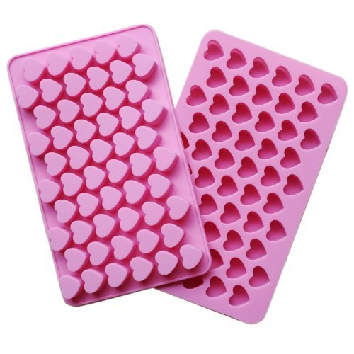 IDH Silicone 55 Heart Cake Chocolate Cookies Baking Mould Ice Cube Soap Mold Tray Reviews
