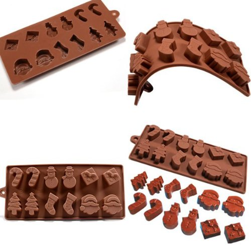 Christmas Shaped Chocolate Foxnovo Mold