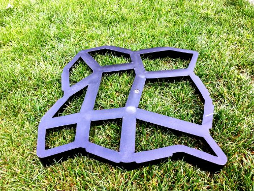Pathmate Concrete Stepping Stone Mold, Random Garden, Lawn, Supply, Maintenance