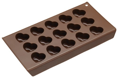 Sweetly Does It Chocolate Hearts Kitchen Craft Silicone Mold