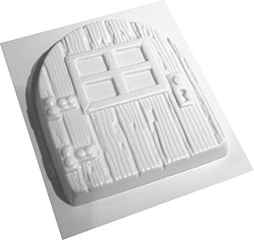 Fairy Door Concrete or Plaster Mould abs plastic mold